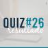 Resultado do Quiz #26